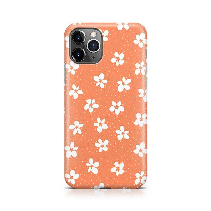 Flower My World | Burnt Orange Flower Case iPhone Case get.casely Classic iPhone 11 Pro