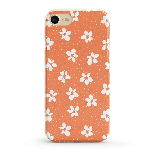 Flower My World | Burnt Orange Flower Case iPhone Case get.casely Classic iPhone 8