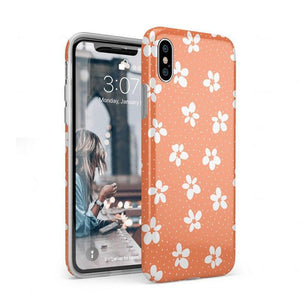 Flower My World | Burnt Orange Flower Case iPhone Case get.casely Classic iPhone XS Max