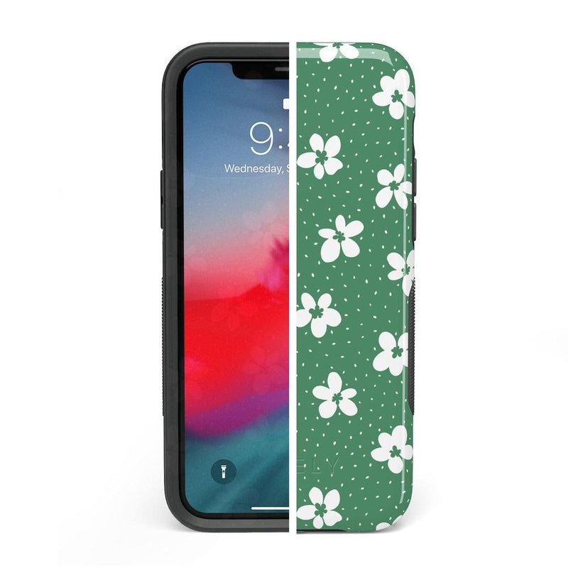 Flower My World | Jade Green Flower Case iPhone Case get.casely