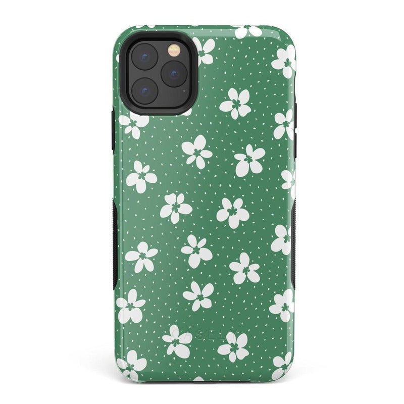 Flower My World | Jade Green Flower Case iPhone Case get.casely Bold iPhone 11 Pro