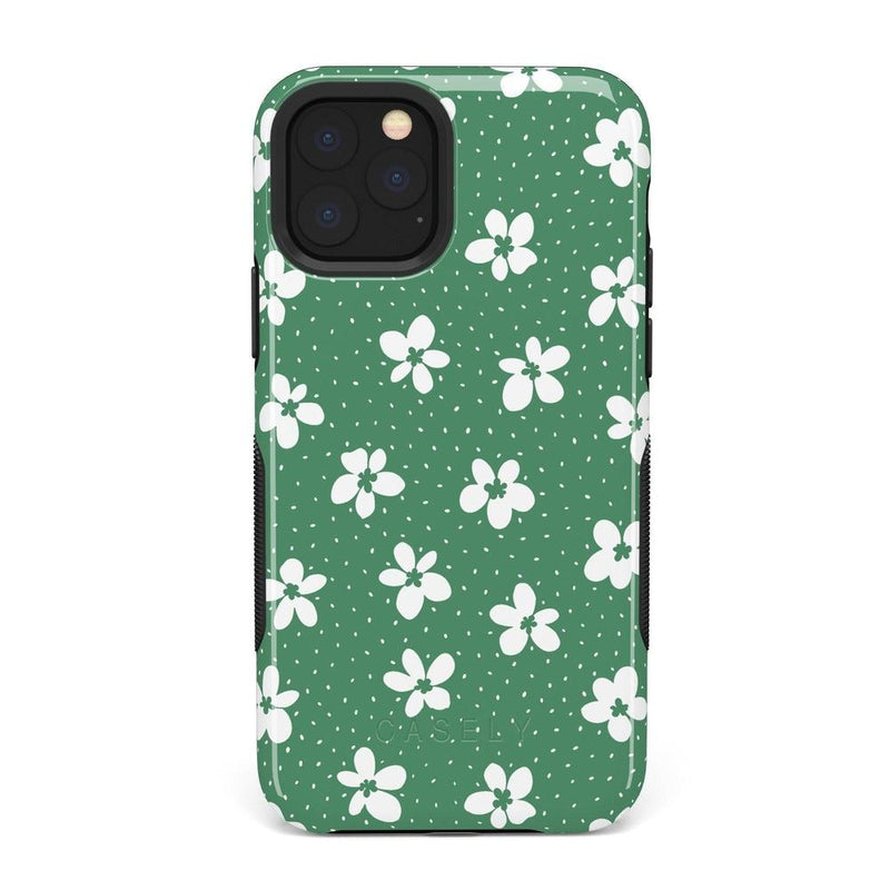Flower My World | Jade Green Flower Case iPhone Case get.casely Bold iPhone 11 Pro Max