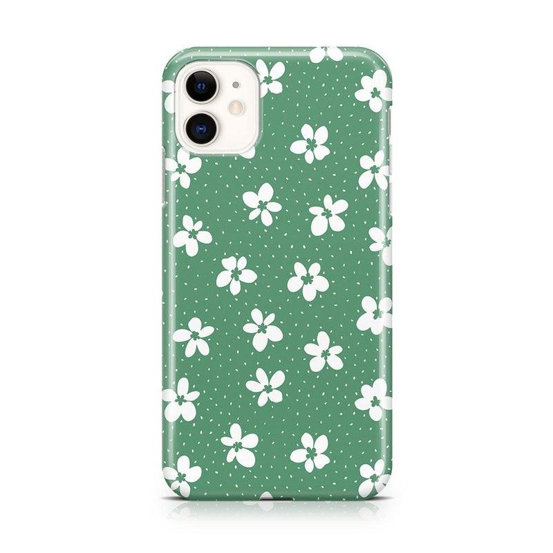 Flower My World | Jade Green Flower Case iPhone Case get.casely Classic iPhone 11