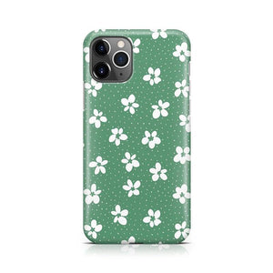 Flower My World | Jade Green Flower Case iPhone Case get.casely Classic iPhone 11 Pro