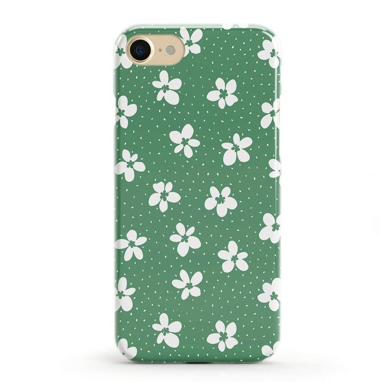 Flower My World | Jade Green Flower Case iPhone Case get.casely Classic iPhone 8