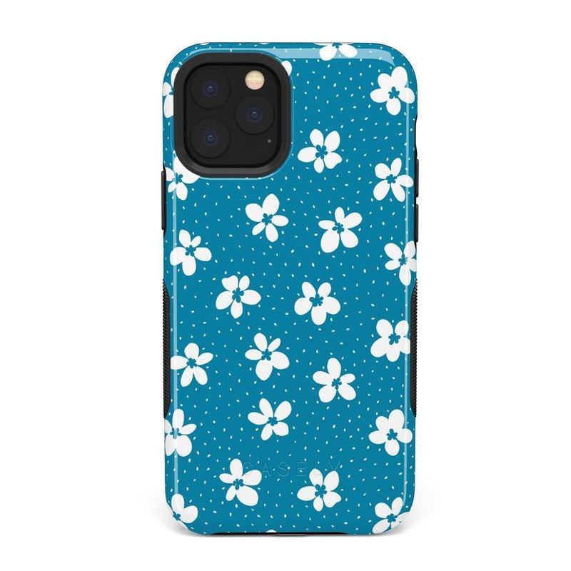 Flower My World | Ocean Blue Flower Case iPhone Case get.casely Bold iPhone 11 Pro