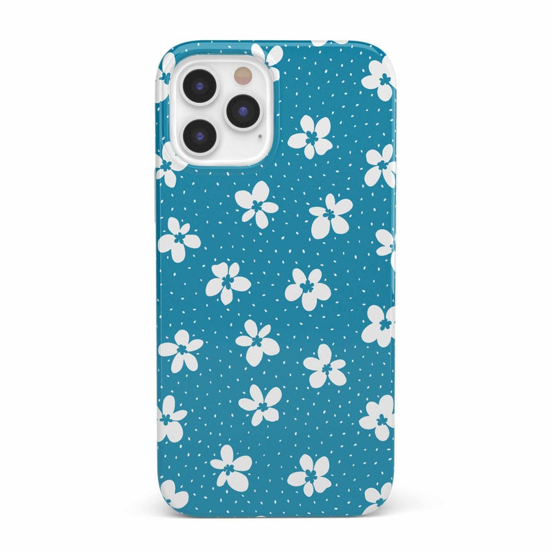 Flower My World | Ocean Blue Flower Case iPhone Case get.casely Classic iPhone 12 Pro