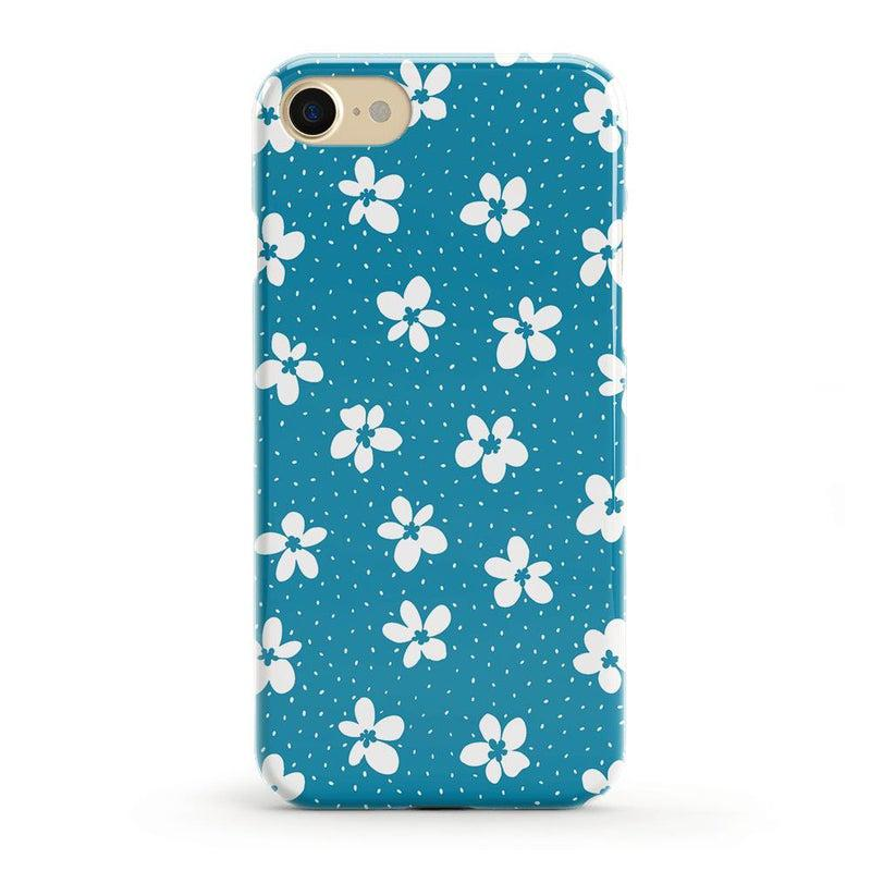 Flower My World | Ocean Blue Flower Case iPhone Case get.casely Classic iPhone 8