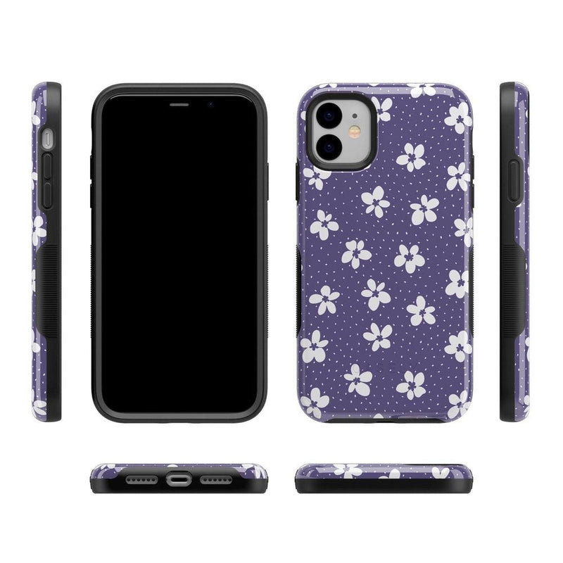 Flower My World | Purple Mauve Flower Case iPhone Case get.casely
