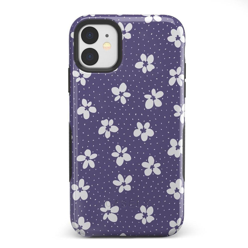 Flower My World | Purple Mauve Flower Case iPhone Case get.casely Bold iPhone 11