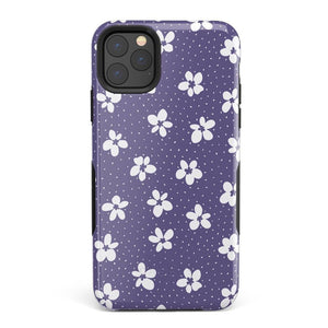 Flower My World | Purple Mauve Flower Case iPhone Case get.casely Bold iPhone 11 Pro