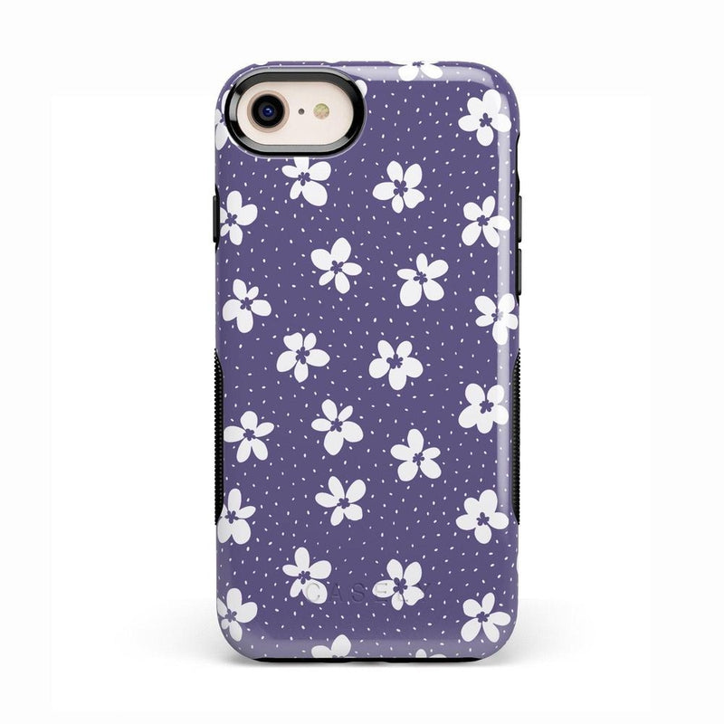 Flower My World | Purple Mauve Flower Case iPhone Case get.casely Bold iPhone 8