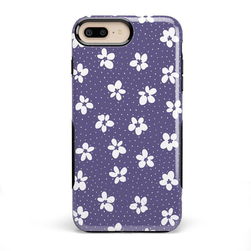 Flower My World | Purple Mauve Flower Case iPhone Case get.casely Bold iPhone 8 Plus