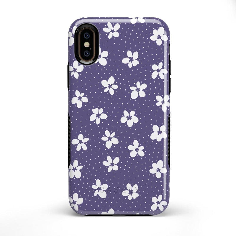 Flower My World | Purple Mauve Flower Case iPhone Case get.casely Bold iPhone X / XS
