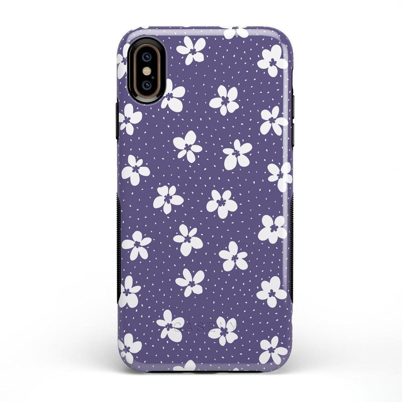 Flower My World | Purple Mauve Flower Case iPhone Case get.casely Bold iPhone XS Max