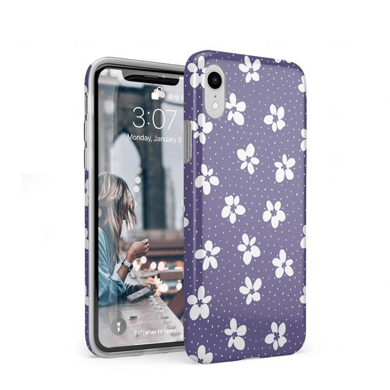 Flower My World | Purple Mauve Flower Case iPhone Case get.casely Classic iPhone XR