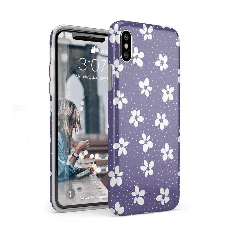 Flower My World | Purple Mauve Flower Case iPhone Case get.casely Classic iPhone XS Max