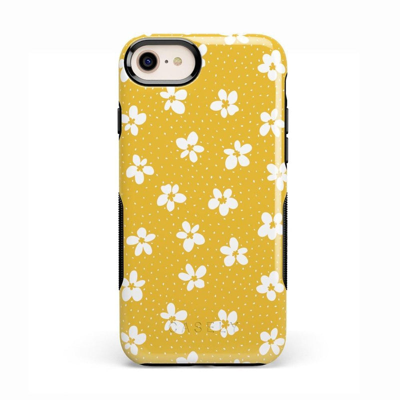 Flower My World | Yellow Flower Case iPhone Case get.casely Bold iPhone 8