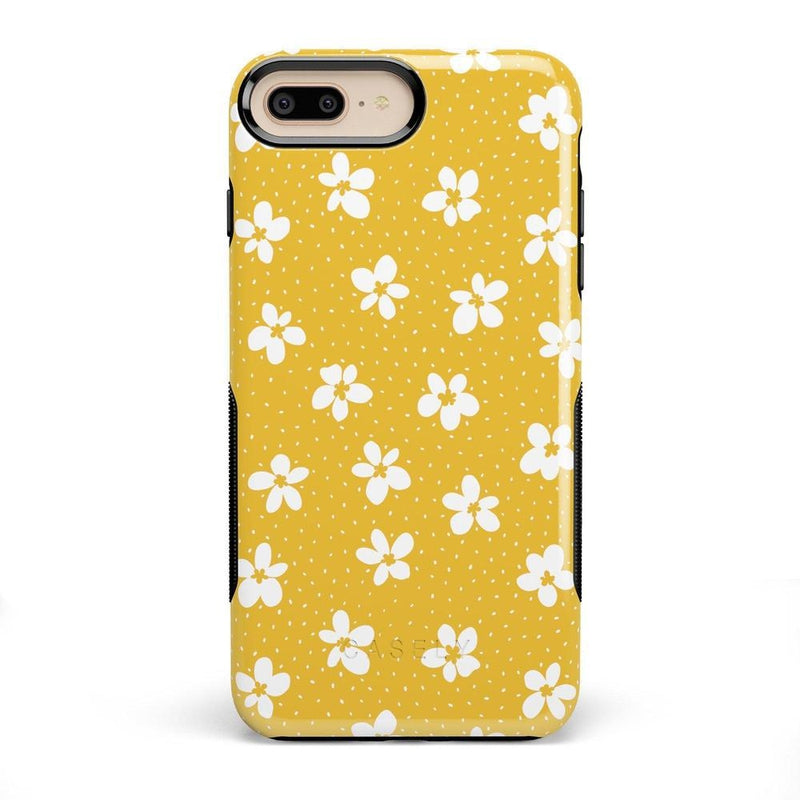 Flower My World | Yellow Flower Case iPhone Case get.casely Bold iPhone 8 Plus