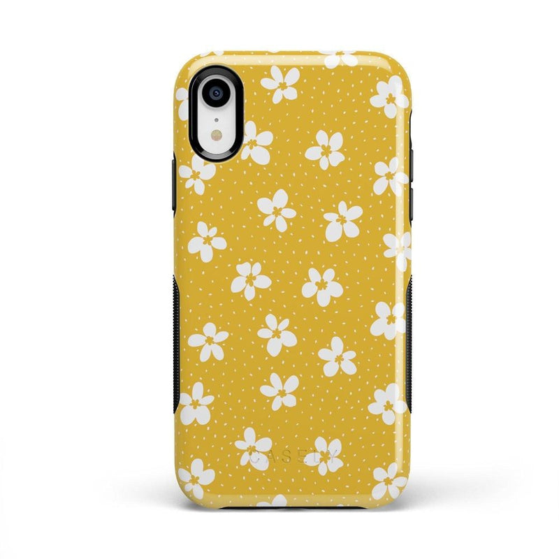 Flower My World | Yellow Flower Case iPhone Case get.casely Bold iPhone XR