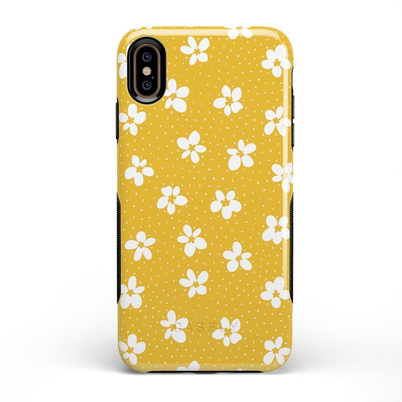 Flower My World | Yellow Flower Case iPhone Case get.casely Bold iPhone XS Max