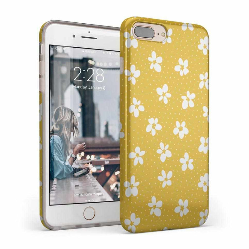Flower My World | Yellow Flower Case iPhone Case get.casely Classic iPhone 8 Plus