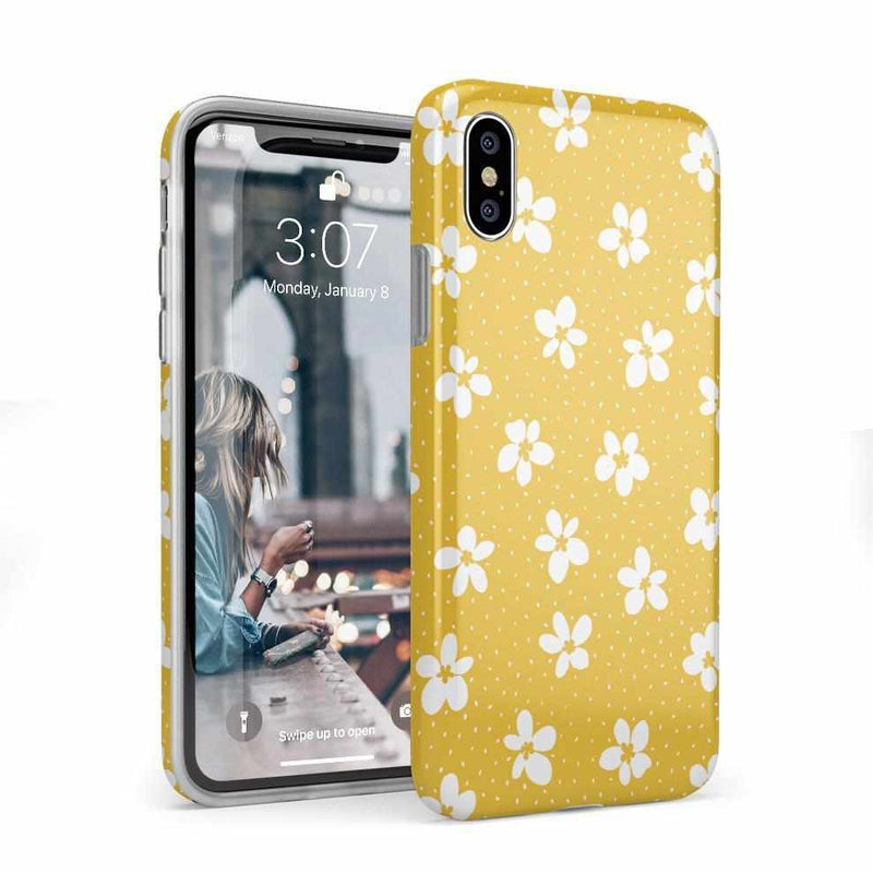Flower My World | Yellow Flower Case iPhone Case get.casely Classic iPhone X / XS