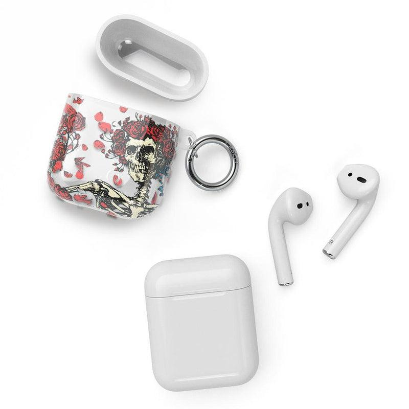 Forever Grateful | Grateful Dead Skeleton AirPods Case AirPods Case CASELY