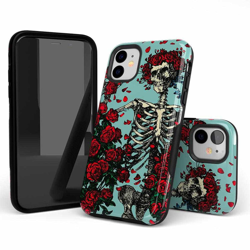 Forever Grateful | Grateful Dead Skeleton Case iPhone Case get.casely