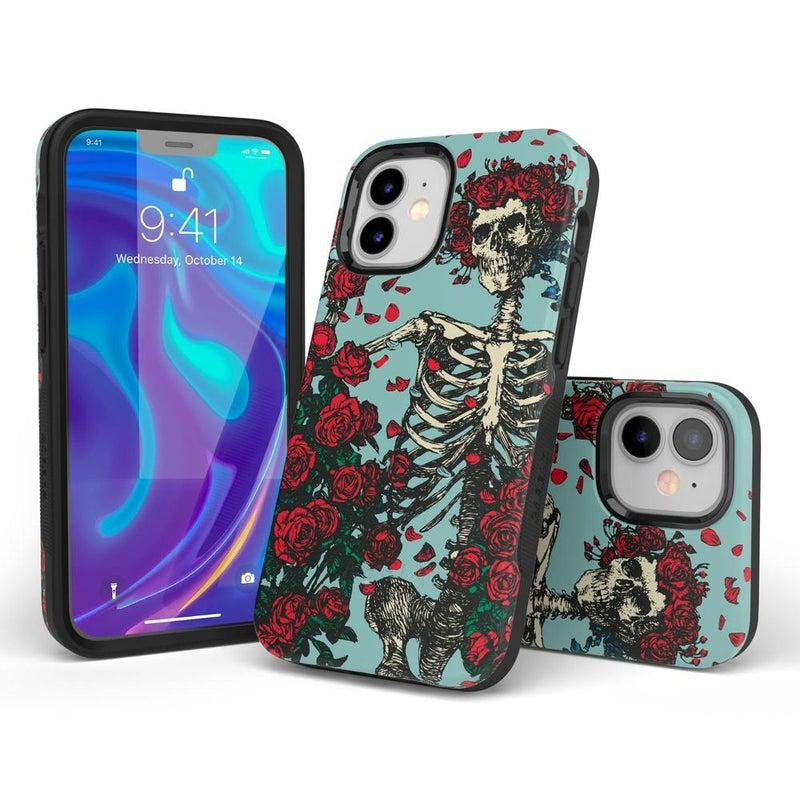 Forever Grateful | Grateful Dead Skeleton Case iPhone Case Grateful Dead