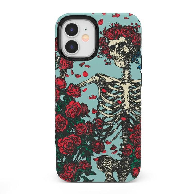 Forever Grateful | Grateful Dead Skeleton Case iPhone Case Grateful Dead Bold iPhone 12