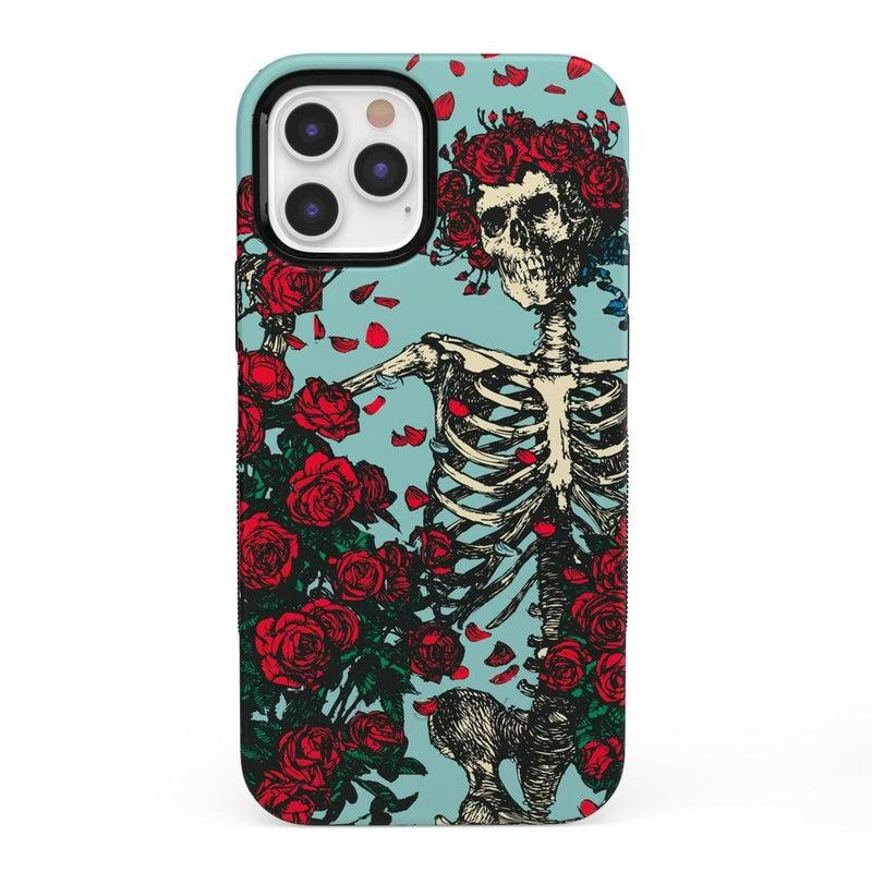 Forever Grateful | Grateful Dead Skeleton Case iPhone Case Grateful Dead Bold iPhone 12 Pro