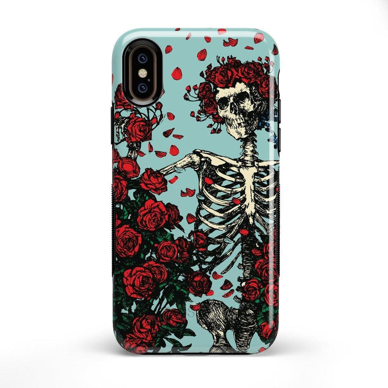 Forever Grateful | Grateful Dead Skeleton Case iPhone Case get.casely Bold iPhone X / XS