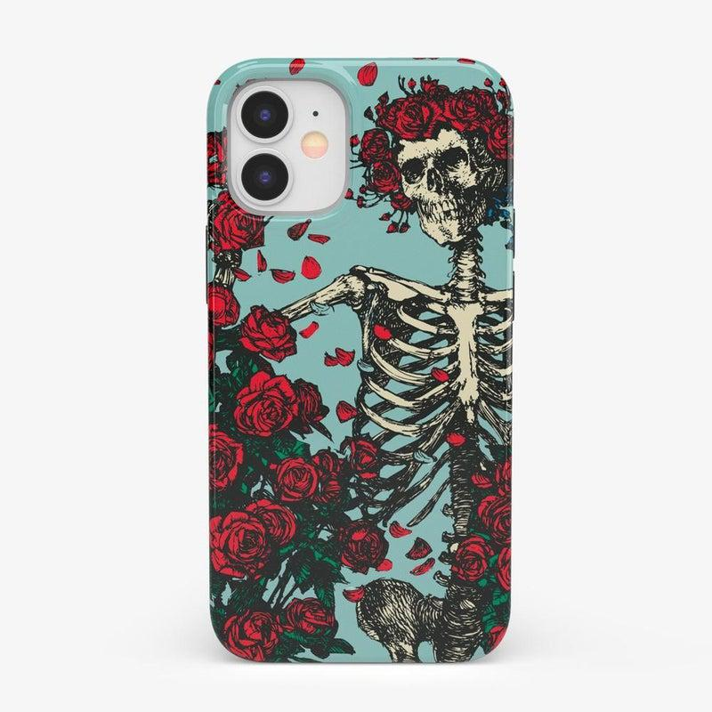 Forever Grateful | Grateful Dead Skeleton Case iPhone Case Grateful Dead Classic iPhone 12