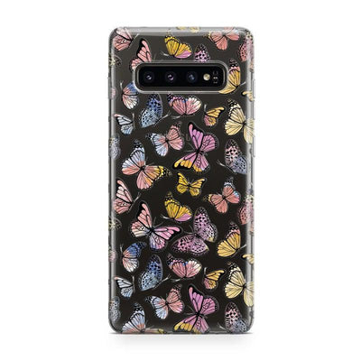 Free Spirit | Rainbow Butterfly Samsung Case Samsung Case get.casely Classic Galaxy S10