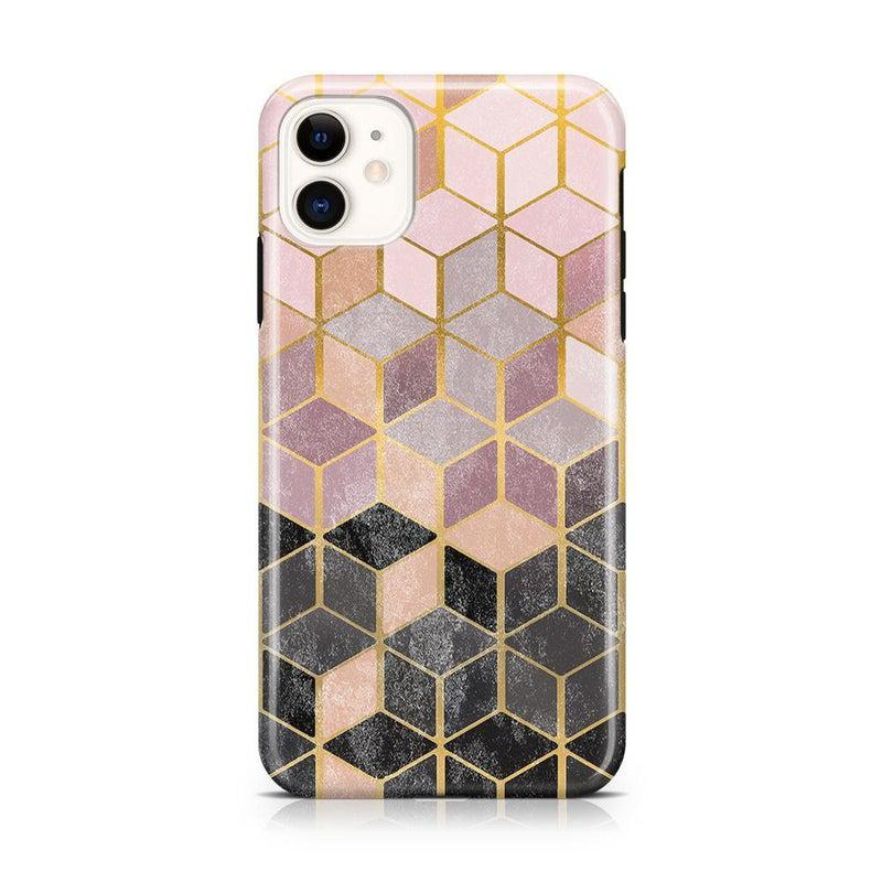 Geo Rose Gold Marble Case iPhone Case Get.Casely Classic iPhone 11
