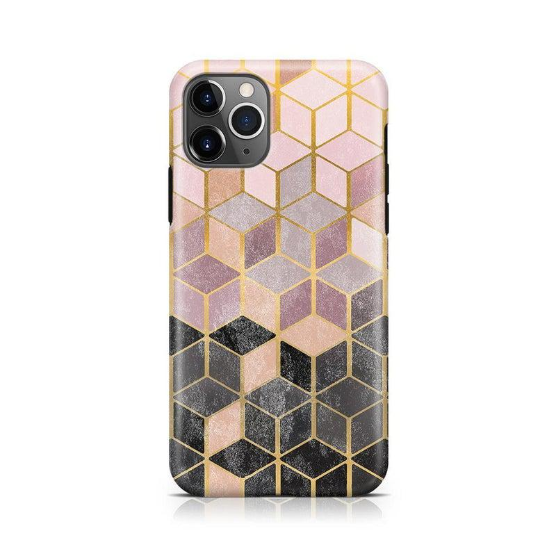 Geo Rose Gold Marble Case iPhone Case Get.Casely Classic iPhone 11 Pro Max