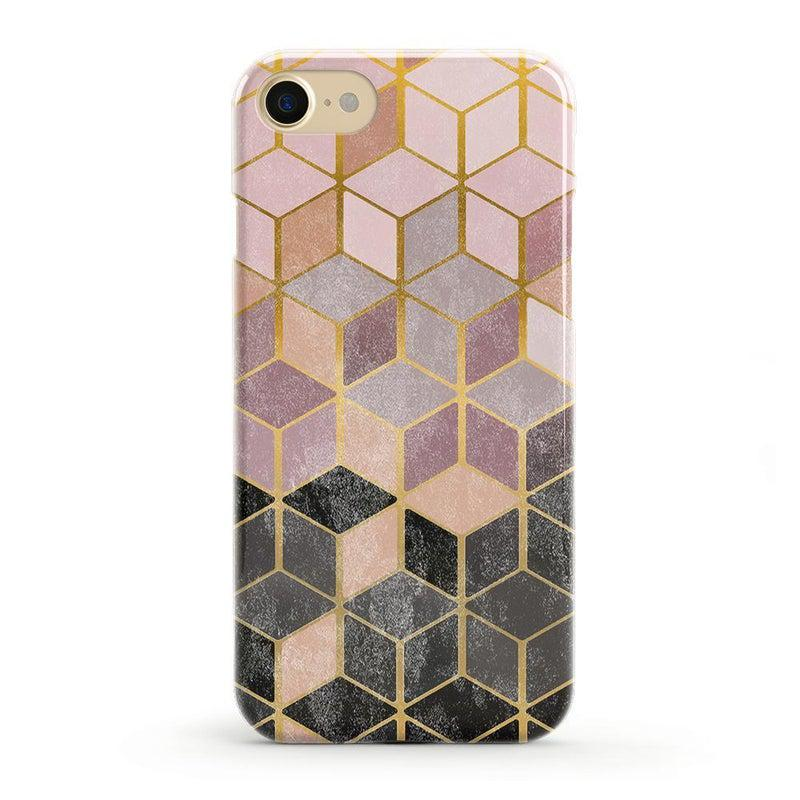 Geo Rose Gold Marble Case iPhone Case Get.Casely Classic iPhone 8