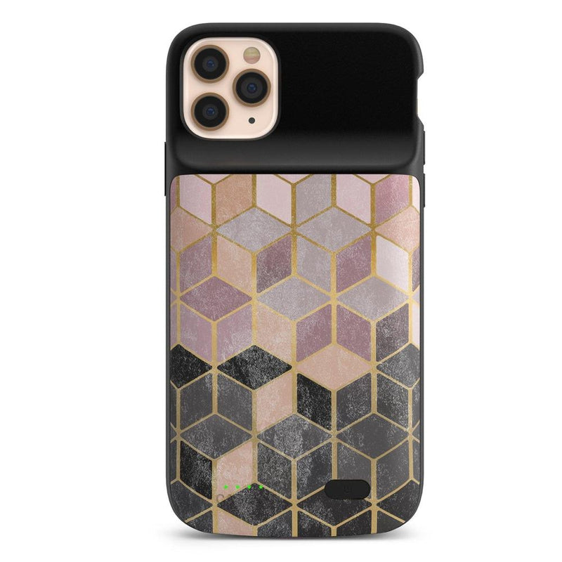Geo Rose Gold Marble Case iPhone Case get.casely Power 2.0 iPhone 11 Pro Max