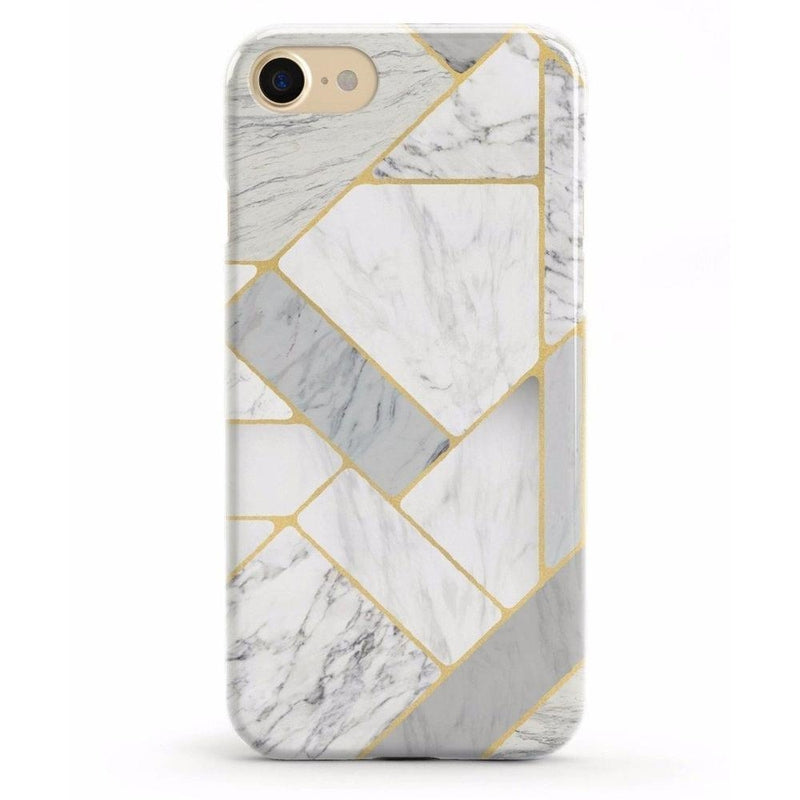 Geo White and Gold Marble Case iPhone Case Get.Casely Classic iPhone 6/6s