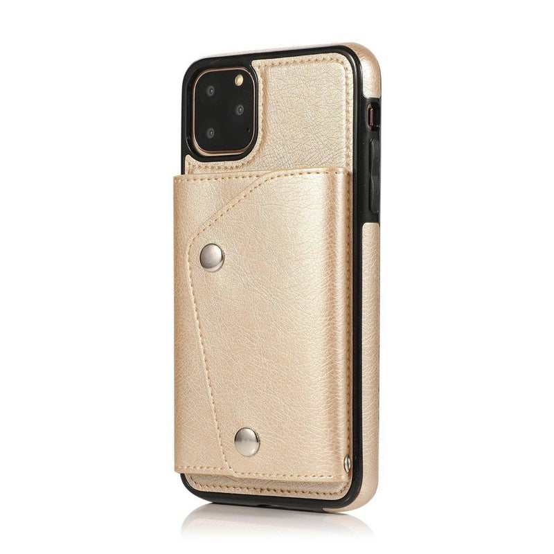 Gold Leather Wallet Case iPhone Case get.casely iPhone 6/6s