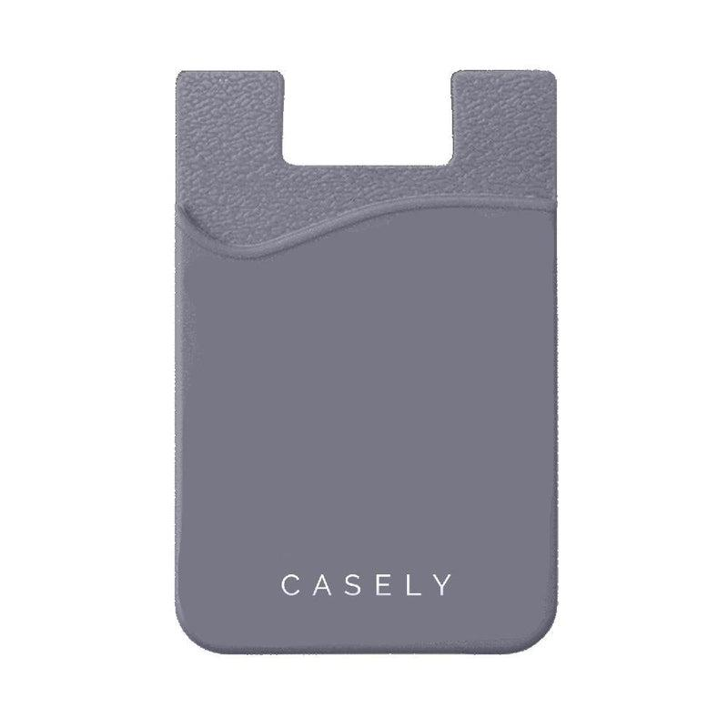 Gray Silicon Wallet Wallet get.casely