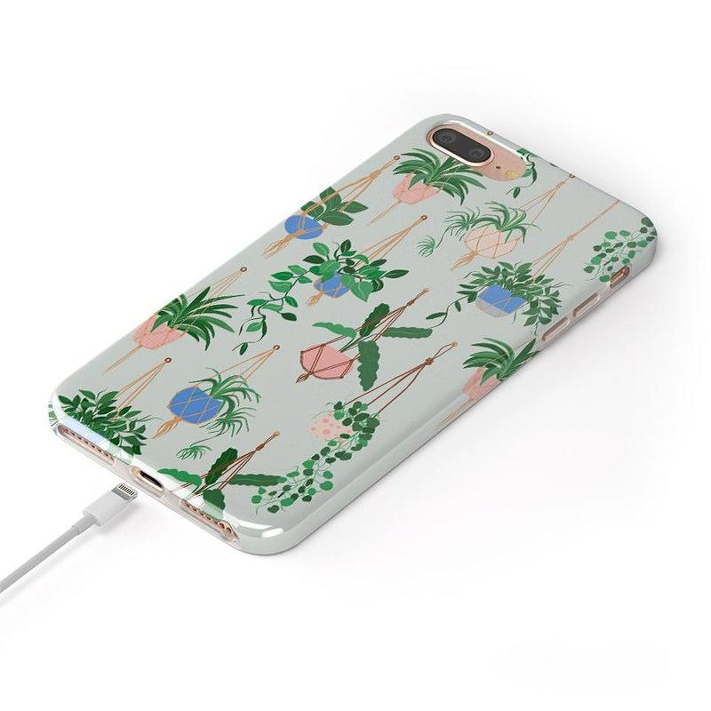 Hanging Around | Potted Plants Case iPhone Case get.casely
