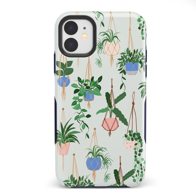 Hanging Around | Potted Plants Case iPhone Case get.casely Bold iPhone 11
