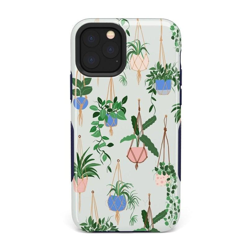 Hanging Around | Potted Plants Case iPhone Case get.casely Bold iPhone 11 Pro Max