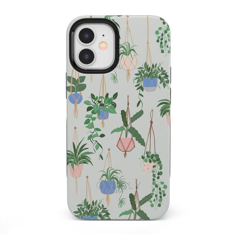Hanging Around | Potted Plants Case iPhone Case get.casely Bold iPhone 12