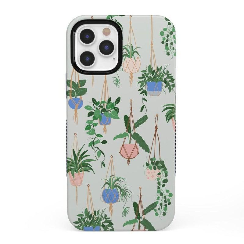 Hanging Around | Potted Plants Case iPhone Case get.casely Bold iPhone 12 Pro Max