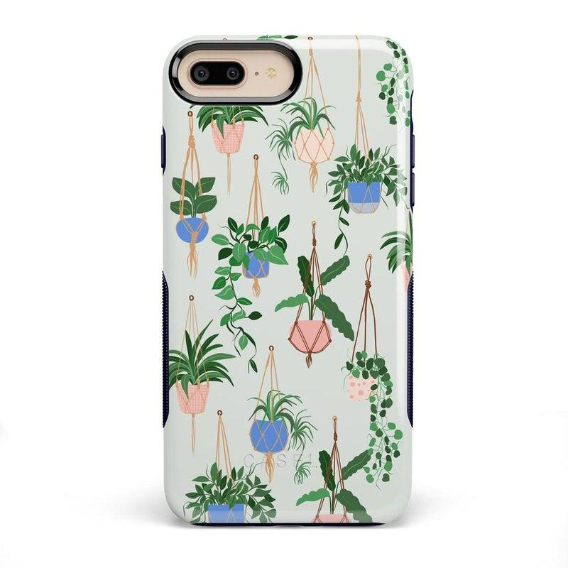 Hanging Around | Potted Plants Case iPhone Case get.casely Bold iPhone 8 Plus