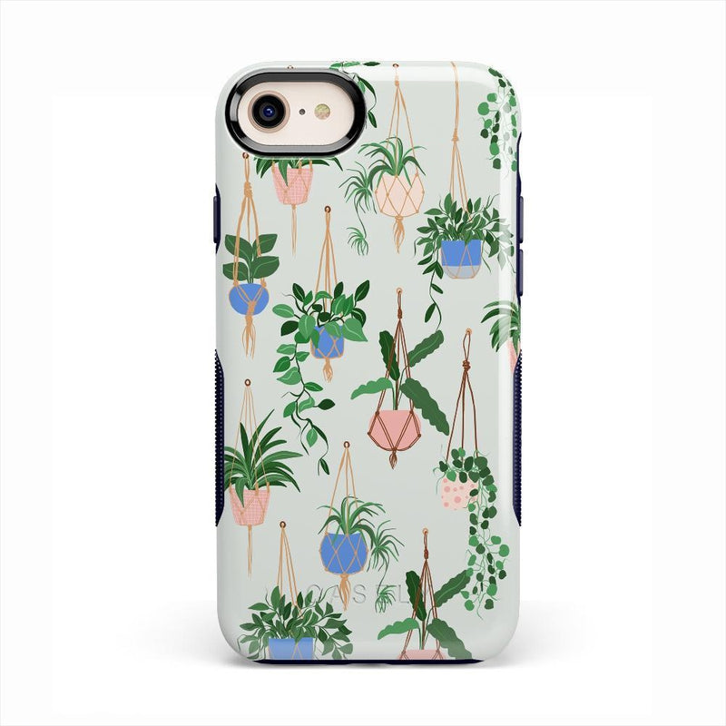 Hanging Around | Potted Plants Case iPhone Case get.casely Bold iPhone SE (2020)