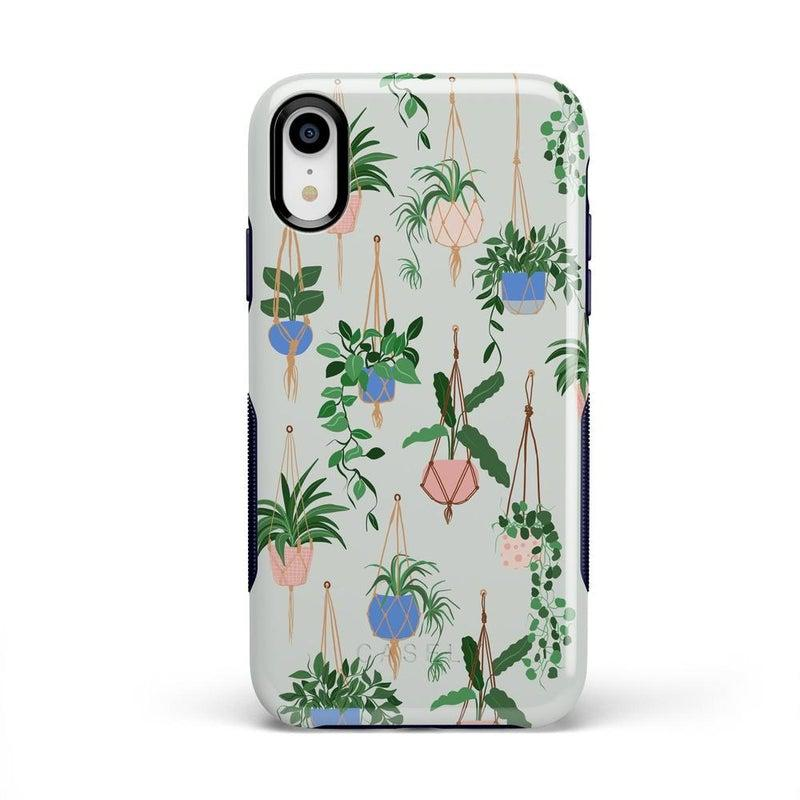 Hanging Around | Potted Plants Case iPhone Case get.casely Bold iPhone XR